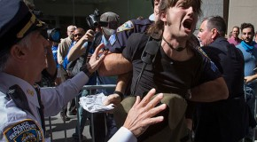 PHOTOS: Flood Wall Street ends with mass arrests after day-long protest