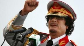 The Last Speech Of Qaddafi