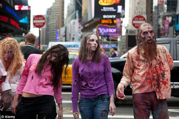 The Pentagon's guide to surviving a zombie apocalypse U.S