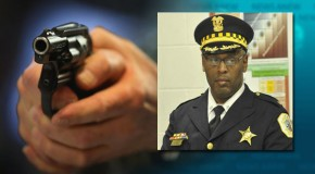 US police commander puts gun in suspect's mouth