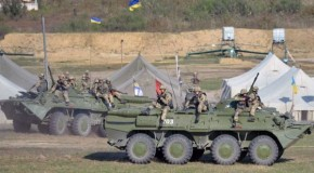 US sending troops to Ukraine for war games to warn Russia