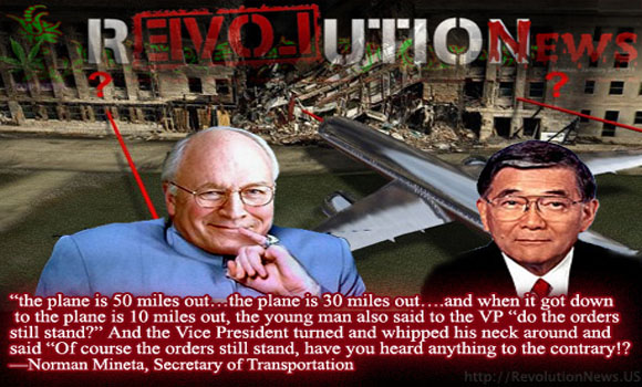 VP Cheney Issued 9 11 Stand Down Orders While Missile Approached Pentagon Tip Of The Government Conspiracy