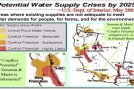 Water Crisis Map, Water Wars & Guns – O.W.L. Warning