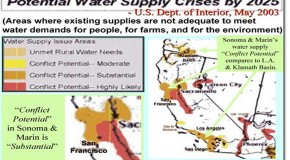 Water Crisis Map, Water Wars & Guns – O.W.L. Warning