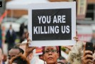 Activists demand comprehensive federal data on Americans killed by police