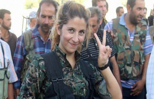 Dead or alive Fate of iconic Kurdish female fighter 'beheaded by ISIS' wrapped in mystery