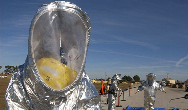 Exclusive U.S. Government Orders 250,000 Hazmat Suits to be Sent to Dallas