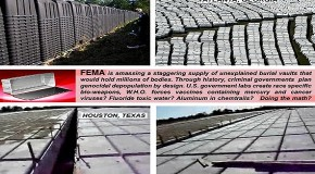FEMA Camps, Mass Graves And Ebola In The US – The Time Is Now