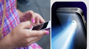 Free apps used to spy on millions of phones: Flashlight program can be used to secretly record location of phone and content of text messages