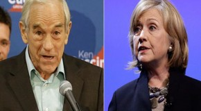 Ron Paul: Hillary would be a pro-war, pro-Fed president