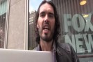 Russell Brand threatened with arrest after filming outside Fox News headquarters