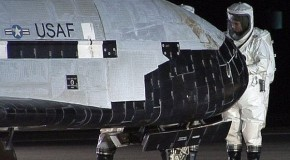 Secret US space plane lands after spending two years in orbit