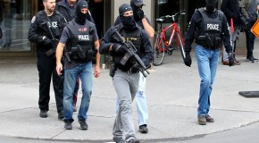 Stages Canada terror 'pretext for police state'