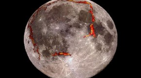 'Strikingly Geometric' Shapes Hidden on Moon's Surface