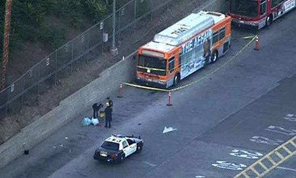 "Terror threat Los Angeles quarantines city bus, driver after masked man yells ""I have Ebola"""