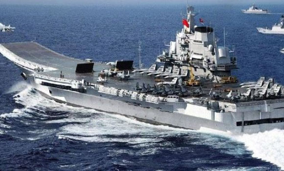 US irritou por chineses, exercícios militares russos