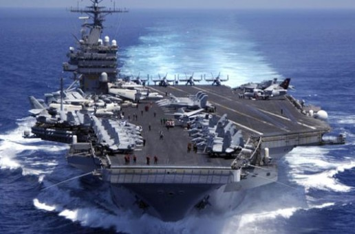 US warship heads to Persian Gulf for war against ISIL in Syria, Iraq