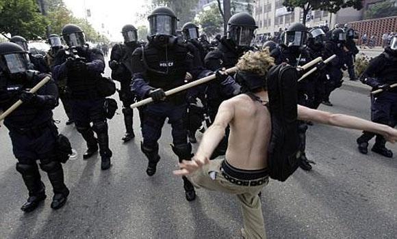 War, Media Propaganda and the Police State