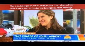 """Weird """"Emergency Alert"""" Interrupts TV Viewers Across America"""