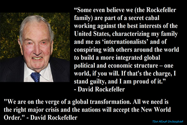 What David Rockefeller Really Thinks