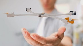 World's First Wearable Drone Takes Flight
