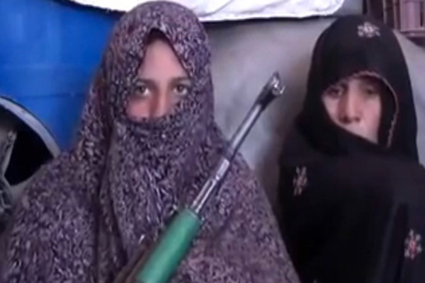 Afghan woman 'kills 25 Taliban' after son shot dead
