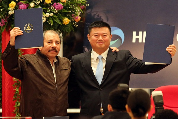 Chinese Billionaire Signs Deal for 100 year Takeover of Nicaragua's New 'Grand Canal' Project