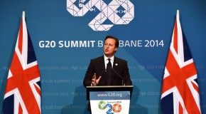 David Cameron warns of looming second global crash