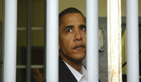 Dems warn backers Obama could go to prison!
