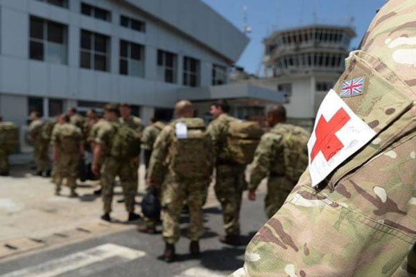 Ebola outbreak Drug banned in US given to British soldiers fighting the virus in West Africa