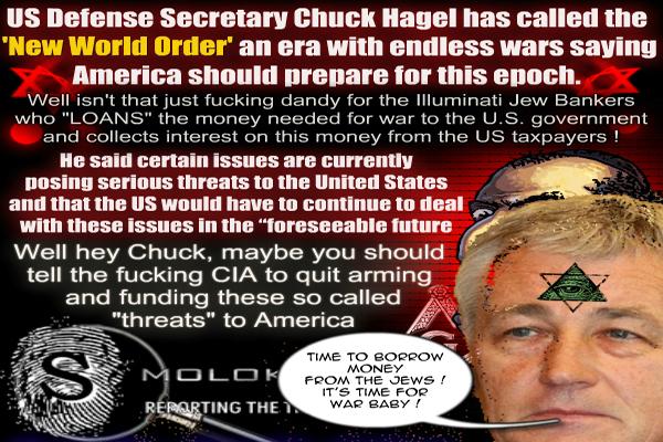 Nova ordem mundial significa intermináveis guerras dos EUA, diz Hagel