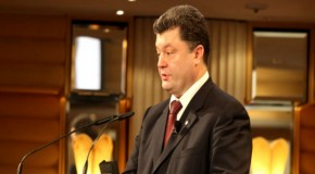 Ukraine's President, to the People He's Bombing: Go to Hell!