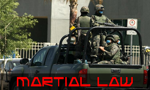 What Does Societal Collapse and Martial Law Look Like