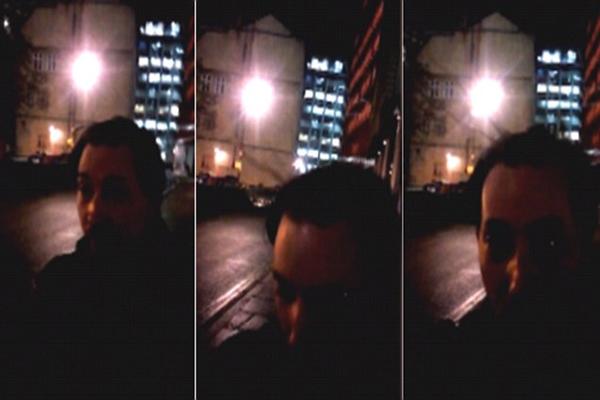 Por que o cabelo das pessoas em pé quando andam passado o escritório do Google em Londres