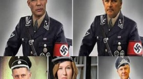 Israel irked by photos of officials in Nazi uniforms