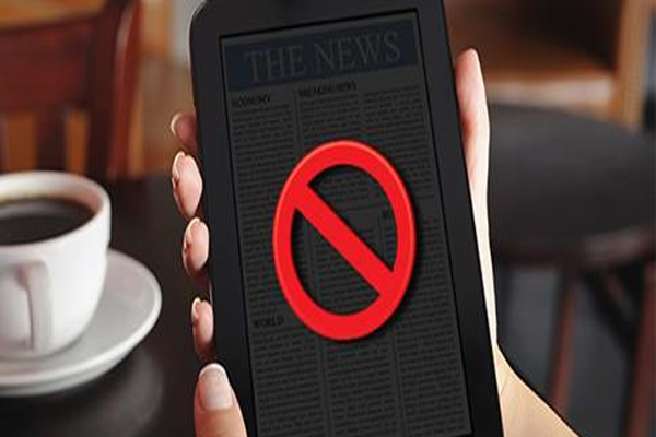 Online news sites to be blacked out during next major catastrophic event