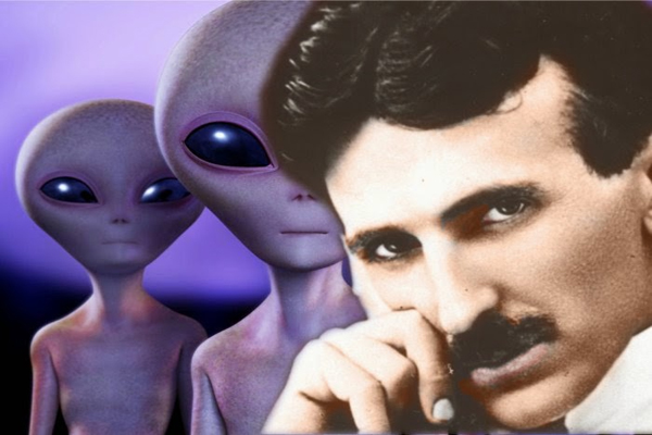 The Possible Connection Between Nikola Tesla and ETs