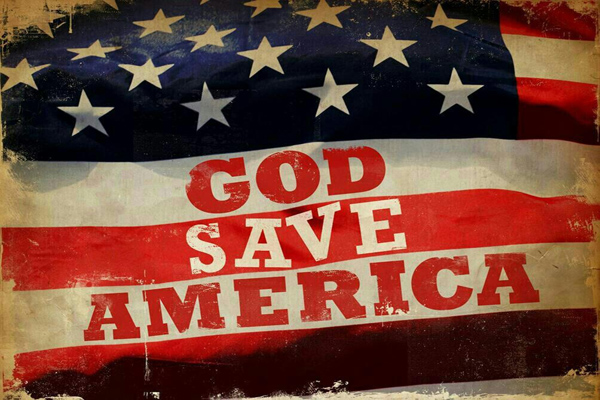 WHY WOULD GOD WANT TO SAVE AMERICA