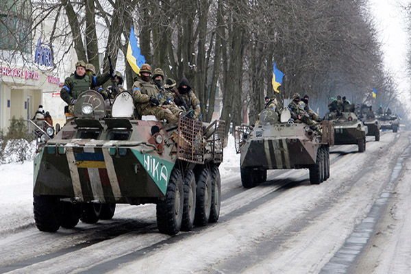 Ukraine army is NATO legion aimed at restraining Russia
