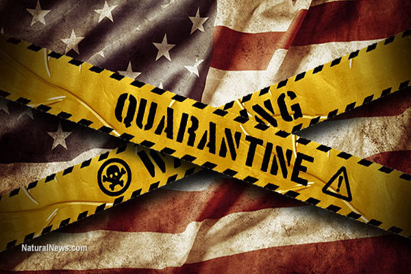 Medical mafia calling for gunpoint quarantines of citizens who refuse vaccinations
