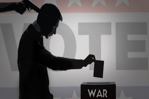Election 2016 Will You Be Voting for the US War Machine