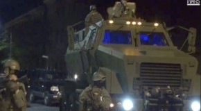 Martial Law: Police, National Guard Invade Baltimore Streets