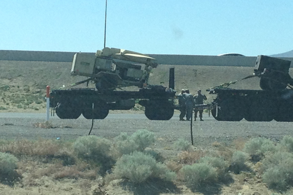 Military Convoy With Microwave Weapons Seen In Jade Helm 15 'Permissive' Nevada Provides More Evidence Of Massive Civil Unrest Preparation In America!