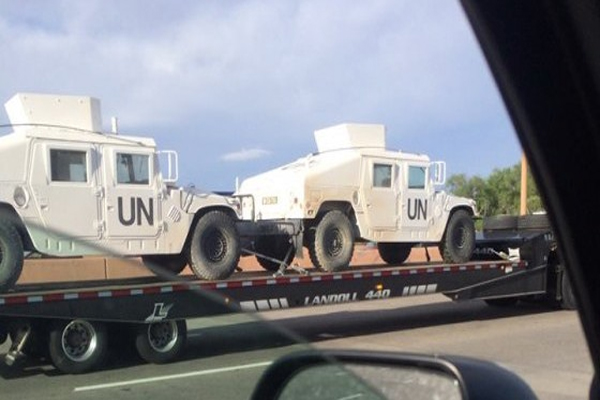 UN Disarmament They Are Here Now! 'They Wouldn't Be Here Now If Disarmament Of American Citizens Wasn't Getting Underway Soon