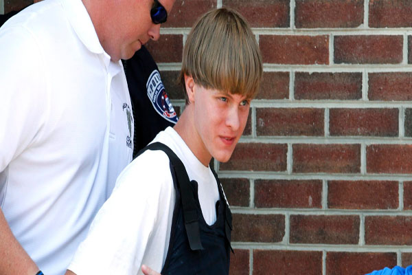 Cops who arrested Dylann Roof 'treated him to a Burger King meal when he complained about feeling hungry after shooting dead nine black church goers'