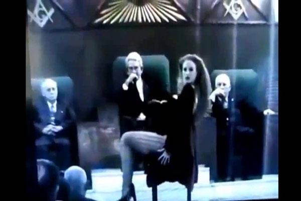 Erotic Dancer Exposed 'Hidden Camera inside a Freemason Lodge'