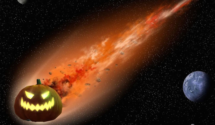 Spooky Asteroid Will Pass Eerily Close to Earth on Halloween