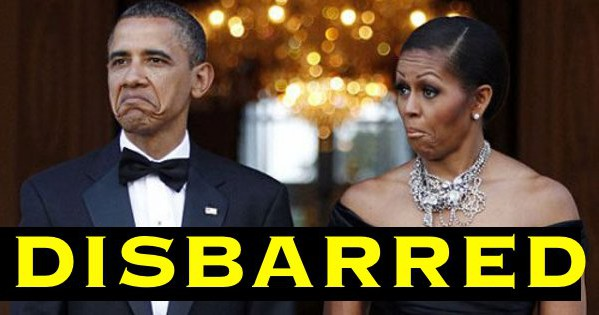 I Knew THE OBAMA'S BOTH LOST THEIR LAW LICENSES But I Didn't Know Why Until READ THIS