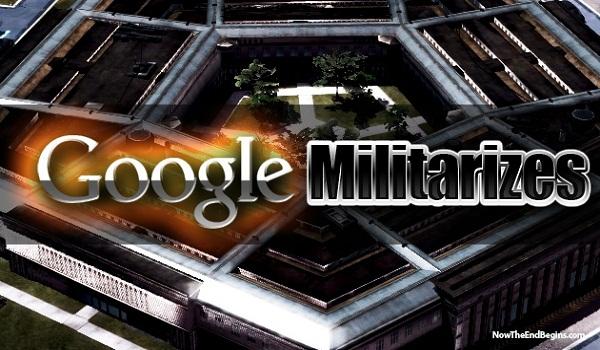 google militarizes