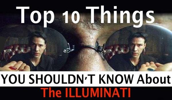 """Top 10 cose che non dovreste sapere su The Ubiquitous """"Illuminati"""""""